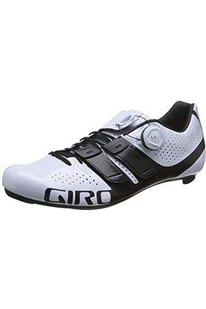Giro Damen Factress Techlace Road Radsportschuhe - Rennrad, Mehrfarbig (White/Black 000)