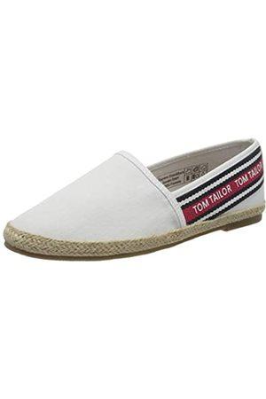 TOM TAILOR Damen 8092002 Slipper, (White 00002)