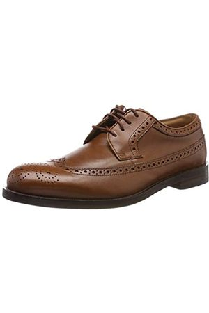 Clarks Herren Coling Limit Derbys, (British Tan Leather)