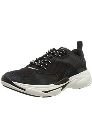 Pepe Jeans London Herren SINYU Man 19 Sneaker, (Black 999)