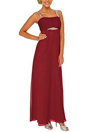 Astrapahl Damen Cocktail Kleid mit Pailletten, Maxi, Einfarbig, Gr. 32