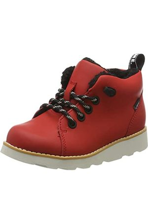 Clarks Jungen Crown Tor K Klassische Stiefel, (Red Leather Red Leather)