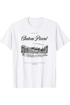 Star Trek : Picard Chateau Picard Vineyard Logo T-Shirt
