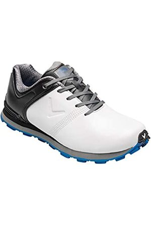 Callaway Unisex-Kinder Apex Junior Waterproof Spikeless Golfschuhe, White/Black
