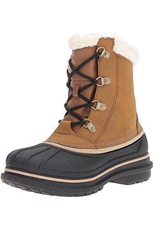 Crocs AllCast II Boot, Herren Schneestiefel, Braun (Wheat/Black 21A)