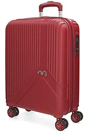 MOVOM Trendy Koffer 55 centimeters 39 (Rojo)