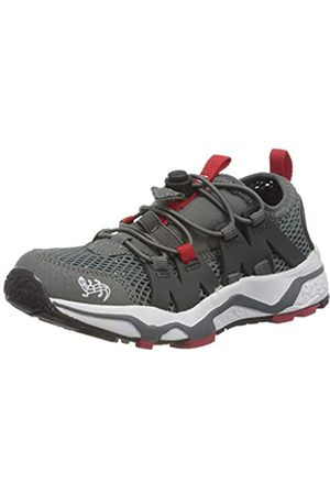 Lurchi Jungen LOOX Sneaker, (Grey Red 35)