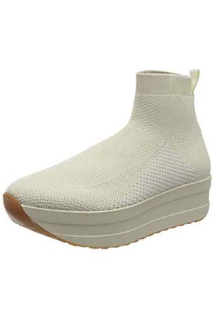 Vagabond Damen Casey Hohe Sneaker, (Offwhite 02)
