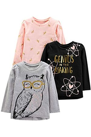 Simple Joys by Carter's 3-pack Graphic Long-sleeve Tees T-Shirt-Set 4 Years