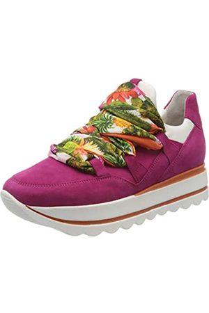 Gabor Shoes Damen Jollys' Sneaker, Mehrfarbig (Fuxia/Weiss/Multi 14)