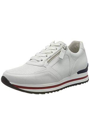 Gabor Shoes Damen Comfort Basic Derbys, (Weiss (Blurossow/ /Bl) 60)