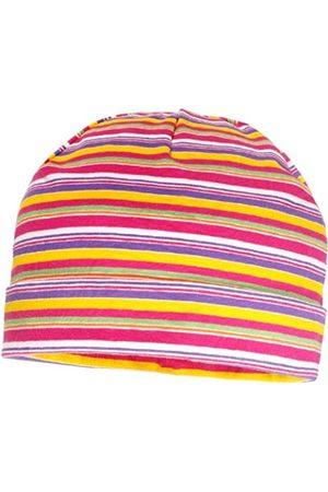 maximo Mädchen Mütze mit Umschlag, Einfarbig