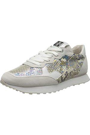 Högl Damen Athletic Sneaker, Mehrfarbig (Offwhite/Weiss 0402)