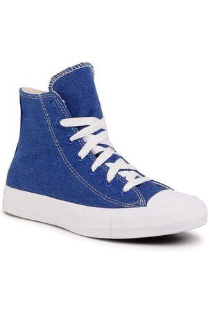 Converse Ctas Hi 166741C Rush Blue/Natural/White