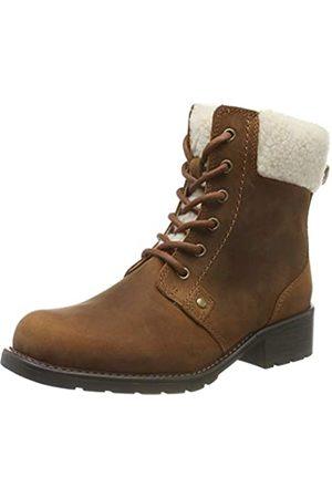 Clarks Damen Orinoco Dusk Biker Boots, (Tan Leather)