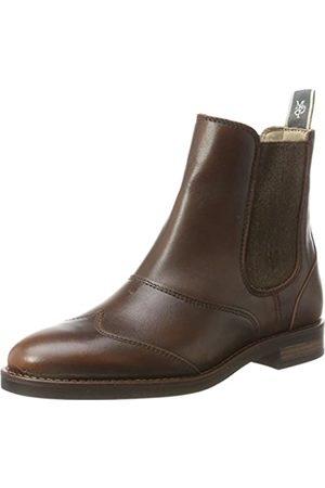 Marc O' Polo Damen Flat Heel Chelsea 70814225002124 Boots, (Brandy)