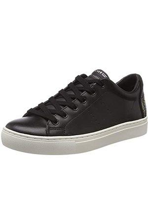 Skechers Damen Side Street-Sunset Walks Sneaker, (Black Blk)