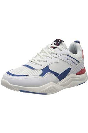 TOM TAILOR Jungen 8070701 Sneaker, Mehrfarbig (White-Blue-Red 02694)