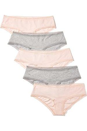 IRIS & LILLY Amazon-Marke: Damen Hipster mit Spitze, 5er-Pack