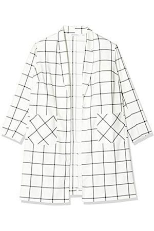 Simply Be Damen Ladies Check Print Duster Jacket Jacke