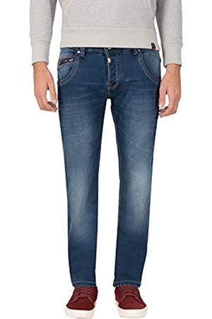 Timezone Herren Regular HaroldTZ Rough Straight Jeans
