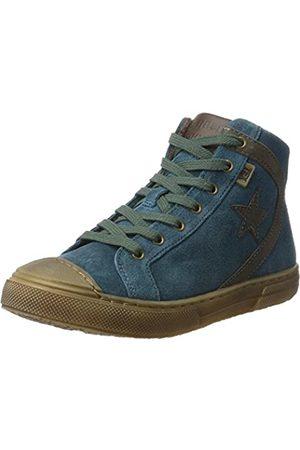 Bisgaard Unisex-Kinder Schnürschuhe Hohe Sneaker, (1006-2 Petrolio)