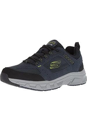 Skechers Men's OAK CANYON Sneakers, Blue (Navy Lime Nvlm)