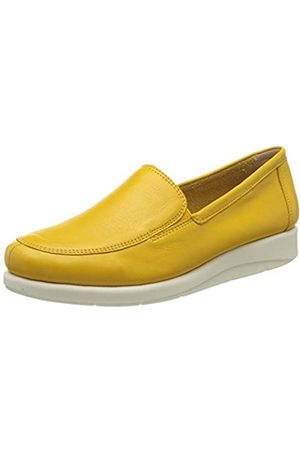 Caprice Damen Frieda Loafers, (Yellow Nappa 605)