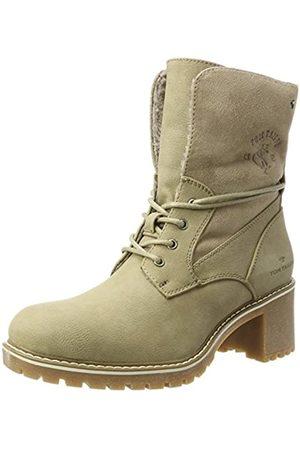 TOM TAILOR Damen 3790901 Desert Boots, (Taupe)