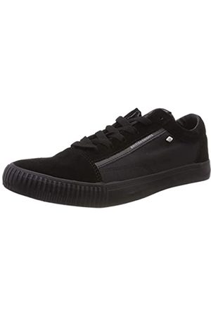 British Knights Herren Mack Sneaker, (Black/Black Suede 04)