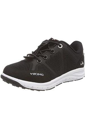 Viking Unisex-Kinder Ullevaal Outdoor Fitnessschuhe, (Black/Grey 203)