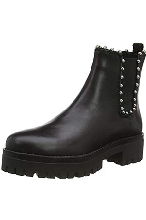 Steve Madden Damen Aiken Bootie Chelsea Boots, (Black Leather 017)