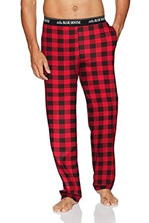 Hatley Little Blue House by Herren Jersey Pajama Pants Pyjamahose