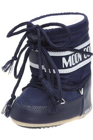 Moon Boot Tecnica MINI NYLON BLU, Baby Jungen Stiefel, (Blue 002), EU 19-22 (UK 3/5