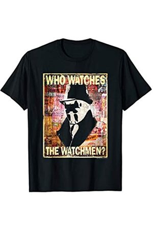 DC Watchmen Who Watches Rorschach T Shirt