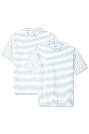 Amazon Locker sitzende Herren-T-Shirt mit Rundhalsausschnitt und kurzen Ärmeln, M