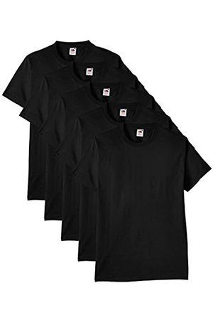 Fruit Of The Loom Herren Regular Fit T-Shirt Heavy Cotton Tee Shirt 5 pack