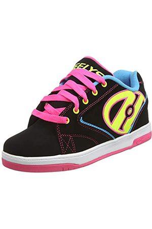 Heelys Mädchen Propel 2.0 770512 Sneakers, Mehrfarbig (Black/Neon Multi)
