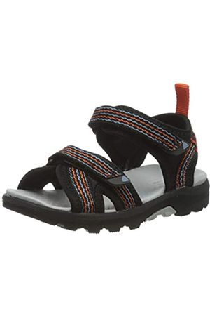 Viking Unisex-Kinder Loppa Slingback Sandalen, (Black/Dark Grey 291)