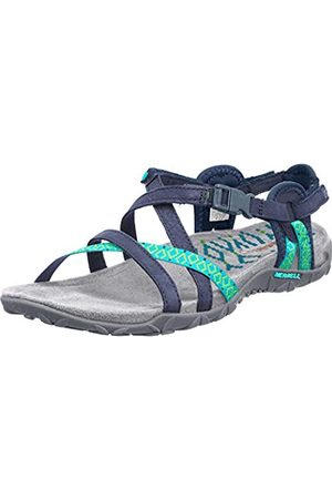Merrell TERRAN LATTICE II, Damen Sandalen, (NAVY)