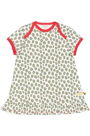 loud + proud Baby - Mädchen Kleid mit Druck, aus Bio Baumwolle, GOTS zertiziziert