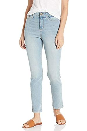 Daily Ritual High-Rise Slim Straight Jeans 32
