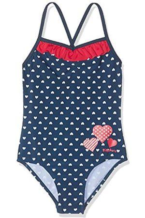 Playshoes Baby-Mädchen UV-Schutz Herzchen Badeanzug