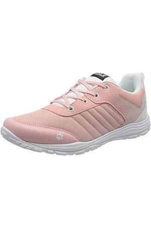 Jack Wolfskin Unisex-Kinder Cascade Low K Cross-Trainer, Pink (White/Light Pink 5086)