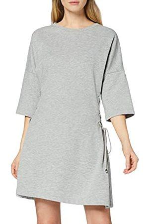 FIND Damen Asymmetrisches Kleid mit Schnürung