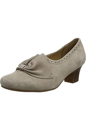 Hotter Donna, Damen Pumps, (Truffle Brogue )