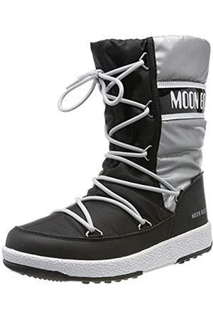 Moon Boot Mädchen Jr Girl Quilted Wp Schneestiefel, (Nero 002)