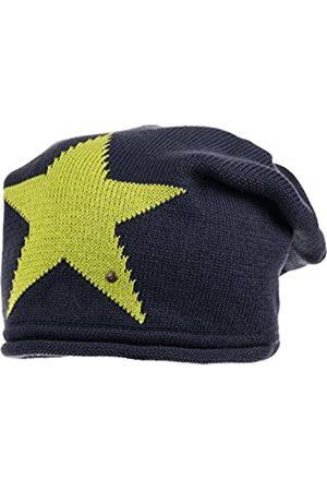 maximo Mädchen Mütze Beanie mit Stern, Gr. 55/57 cm