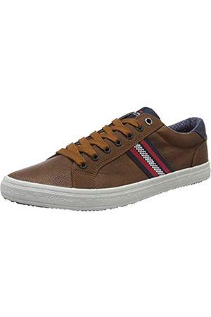 TOM TAILOR Herren 8081302 Sneaker, (Cognac 00205)