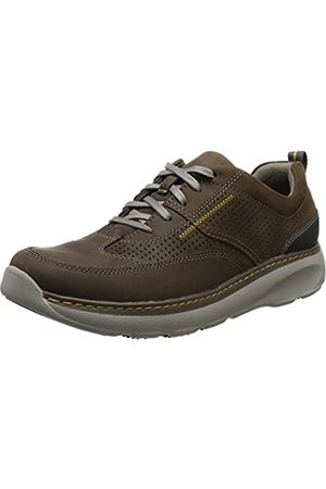 Clarks Herren Charton Mix Derby, (Dark Brown Lea)